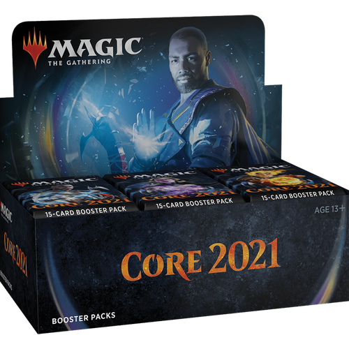 Core Set 2021 Draft Booster Display