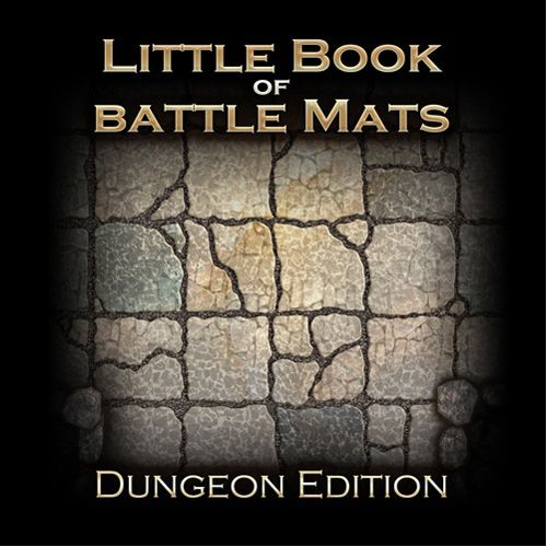 Little Book of Battle Maps - Dungeon Edition