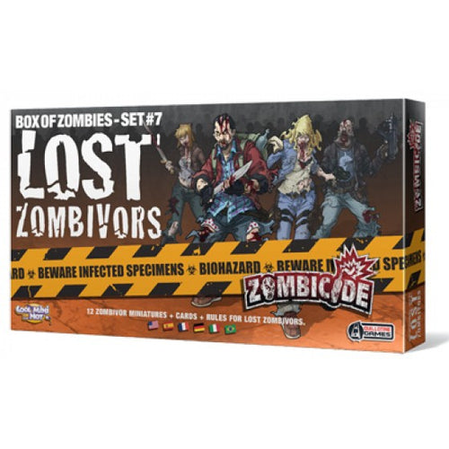 Lost Zombivors - Box of Zombies Set #7