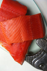 Frozen Sockeye Portions ($12.95/lb)