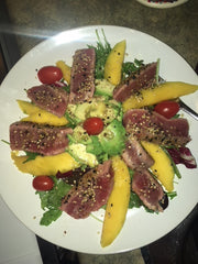 Ahi Tuna Steaks ($14.95/lb)
