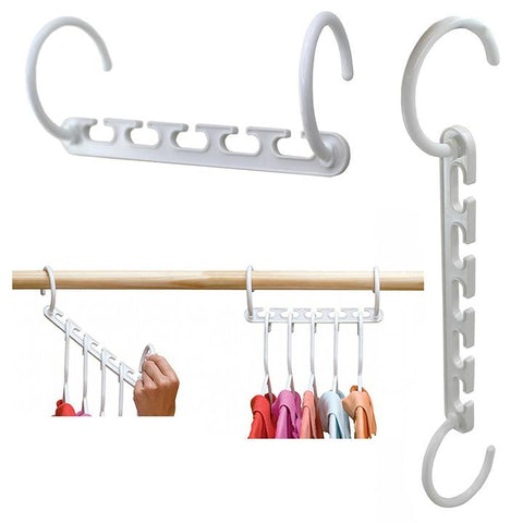 ncrease the amount of hanging space in your closet with our magic wonder