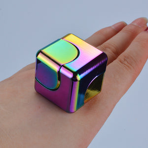 CUBE Metal Square Fidget Spinner