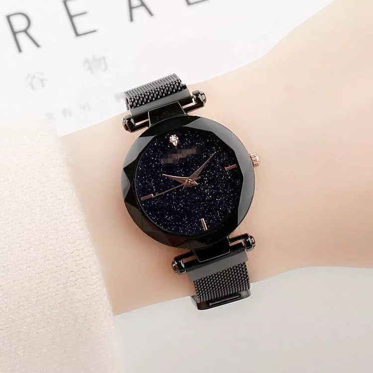 Starry Sky Watch With Magnetic Watchband-MYSTERIOUS