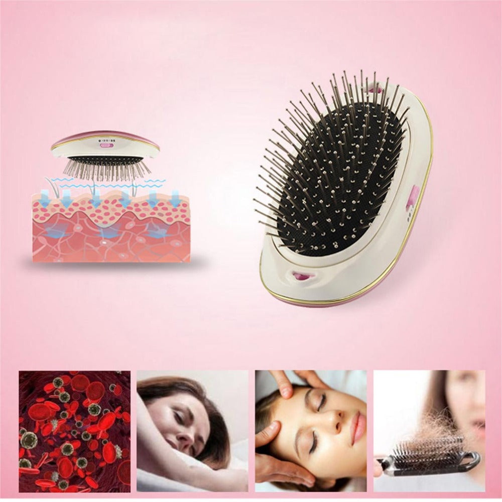 Massage Portable Takeout Electric Ionic Hairbrush