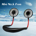 (Get 50% OFF + FREE Shipping)Portable Mini Neck Fan