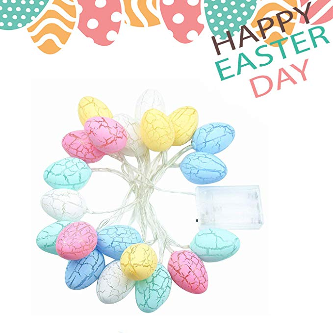 (50% OFF TODAY AND BUY MORE SAVE MORE)AIMEE Easter Egg Lights