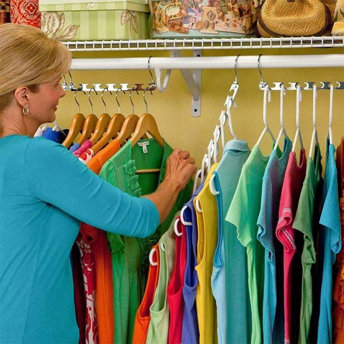(BUY MORE, SAVE MORE)Magic Hangers Closet Space Saving