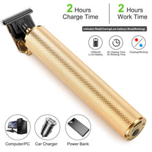 Load image into Gallery viewer, Electric Pro Li Outliner Hair Clippers Mens Hair Trimmer