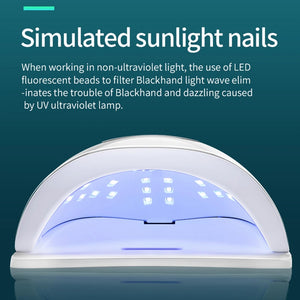 UV Nail Lamp LED Nail Dryer