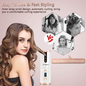 Sysbow® Automatic Cordless Curling Iron