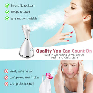 Ionic Facial Steamer-Spa Quality