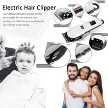 Load image into Gallery viewer, Professional Hair Clippers Mens Hair Trimmer