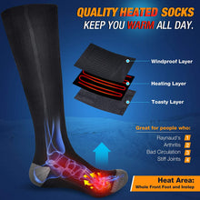 Load image into Gallery viewer, Unisex Rechargeable Electric Heated Socks