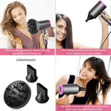 Load image into Gallery viewer, 1800W Professional Ionic Hair Blow Dryer