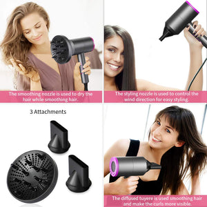 1800W Professional Ionic Hair Blow Dryer