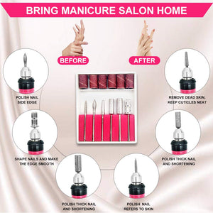 NailsPro™ Professional Nail Drill Electric Manicure & Pedicure Kit