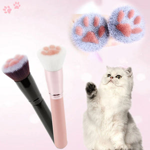 "alt=""sysbow cat paw makeup brushes"""
