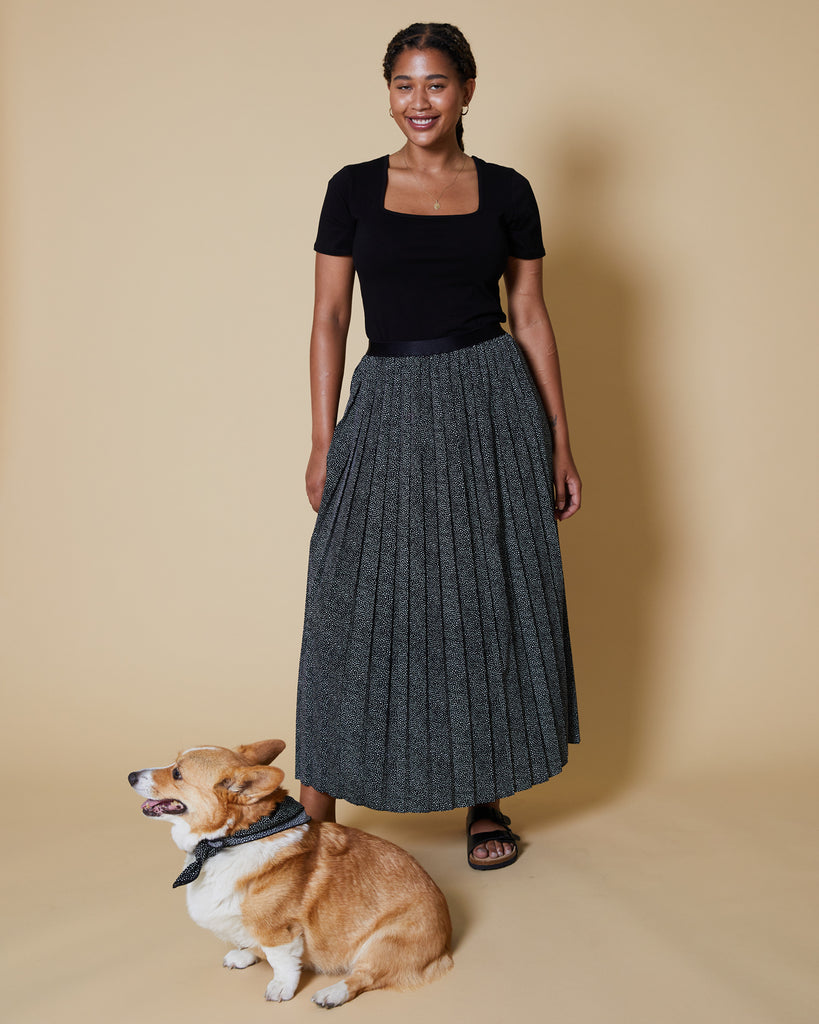 Pebble Print Madison Skirt