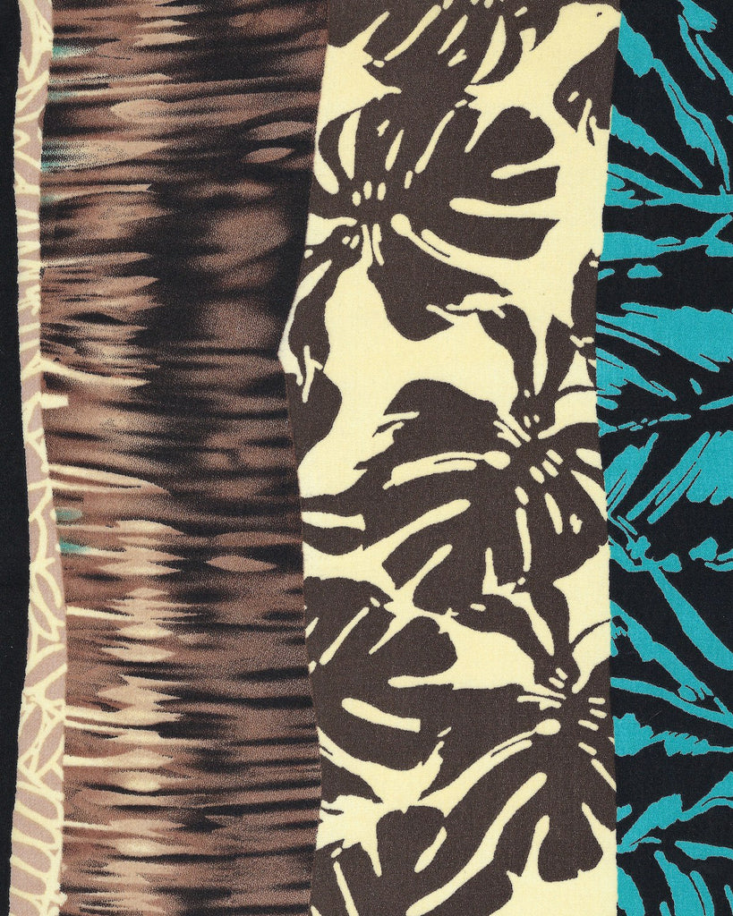 Threadymade-Tiki Print-Fabric