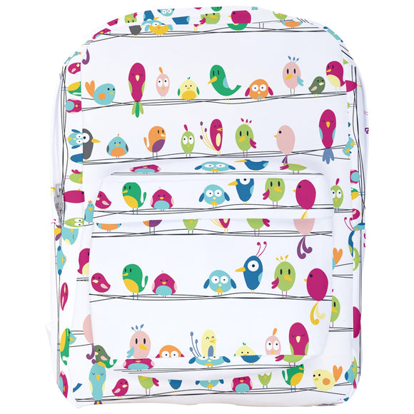 Cute Cartoon Birdies Backpack