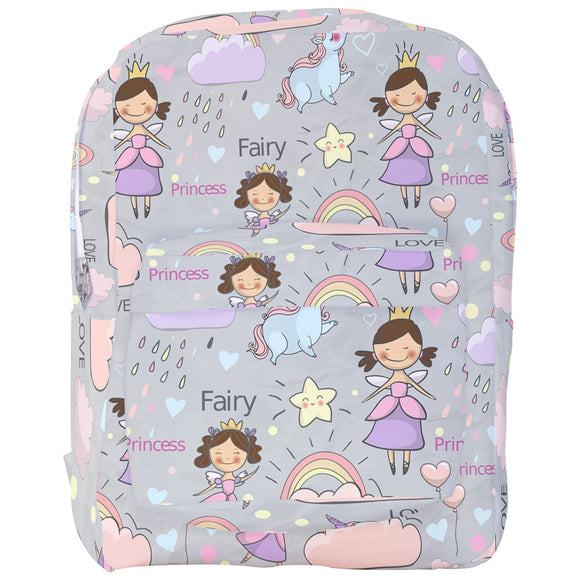 Fairy Princess Pattern Backpack