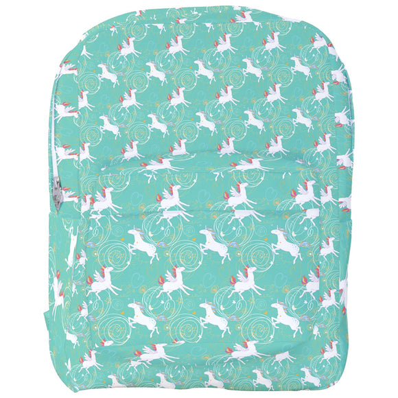 Unicorns and Winged Horses Pattern Backpack