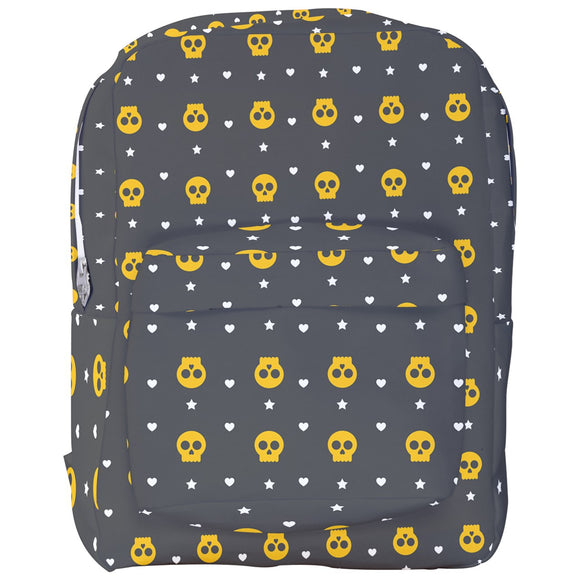 Skulls, Hearts, and Stars Backpack