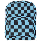 Black Checkered Backpack - Various Colors