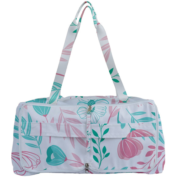 Pink and Green Floral Getting Organized Bag