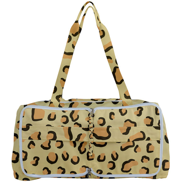 Leopard Print Getting Organized Bag