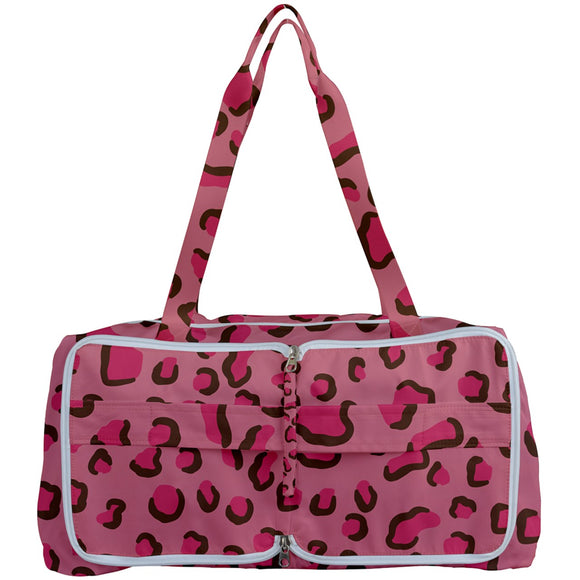 Pink Leopard Print Getting Organized Bag