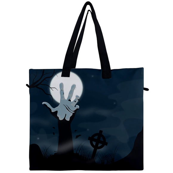 Reach Out From The Grave Canvas Travel Tote