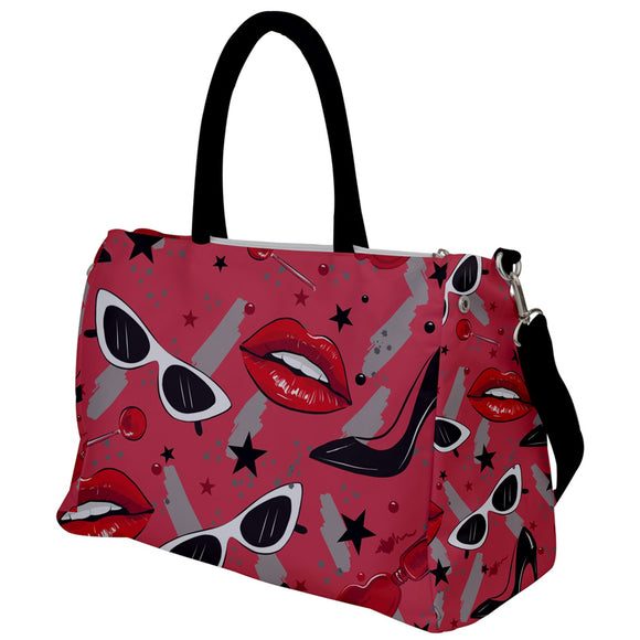 Diva Pattern Travel Bag