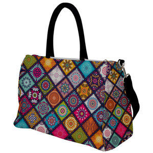 Mandala Patchwork Design Travel Bag