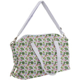 Cactus and Hearts Pattern Canvas Crossbody Bag