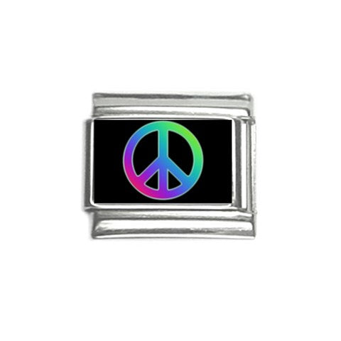 Peace Sign Italian Charm (9mm)