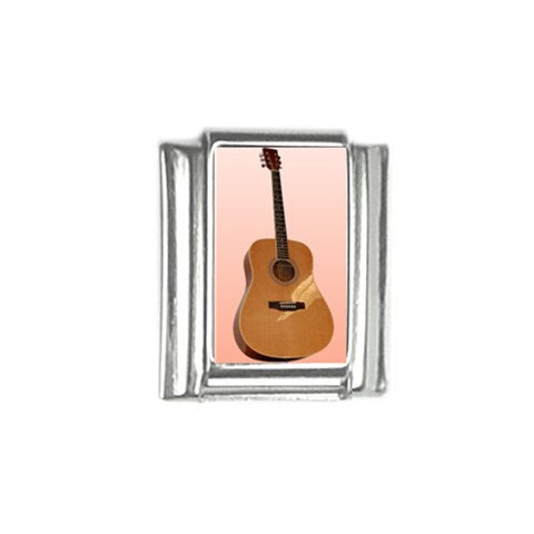 Acoustic Guitar Italian Charm (9mm)