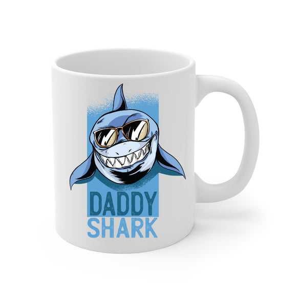 Daddy Shark Coffee or Latte Mug