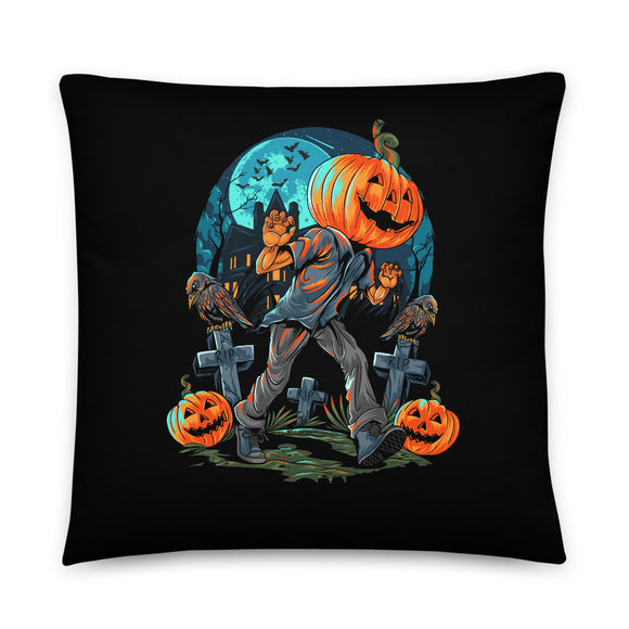 Happy Jack Halloween Throw Pillow Case + Optional Pillow