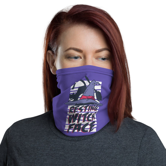 Resting Witch Face Neck Gaiter