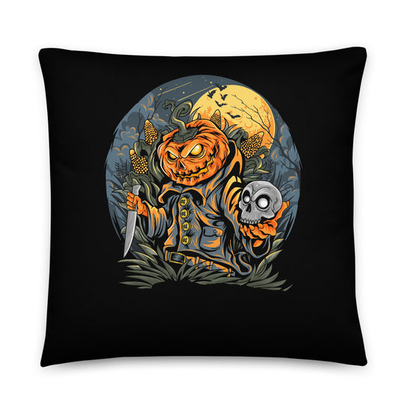 Stabby Jack Halloween Throw Pillow Case + Optional Pillow