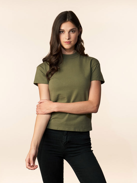 the liv tee - olive