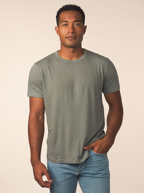 men's cotton cashmere tee - kenji