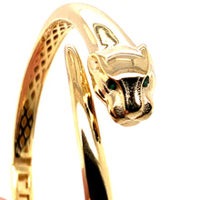 Load image into Gallery viewer, Gaurdian Panther Bangle