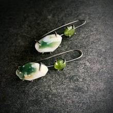 Load image into Gallery viewer, Theia Earring: Ocean Jasper and Idocrase