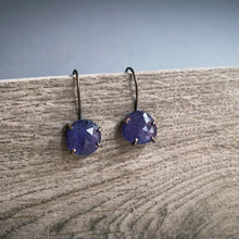 Load image into Gallery viewer, Theia Earring: Tanzanite