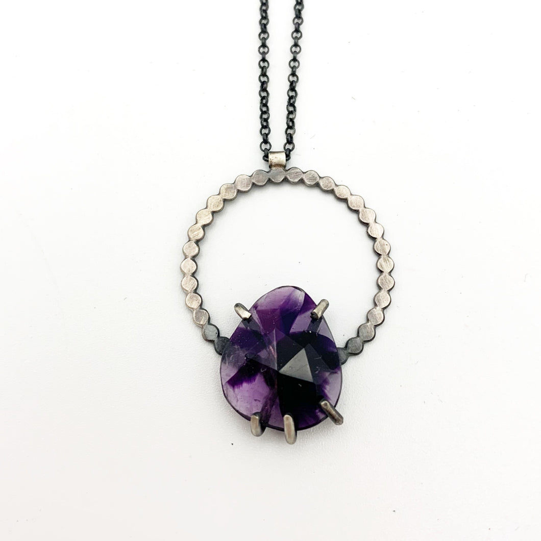 Eclipse Necklace: Atomic Amethyst