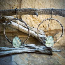 Load image into Gallery viewer, Ana Earring: Prehnite with Epidote