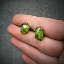 Load image into Gallery viewer, Gemstone Studs: Peridot